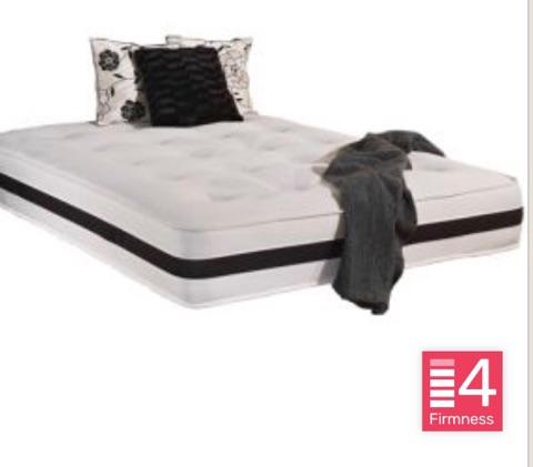 Buckingham mattress bed city leicester for Divan unwind