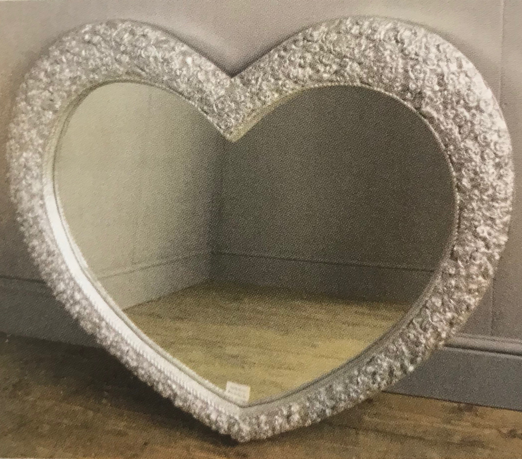 Heart Shaped Mirror Bed City Leicester